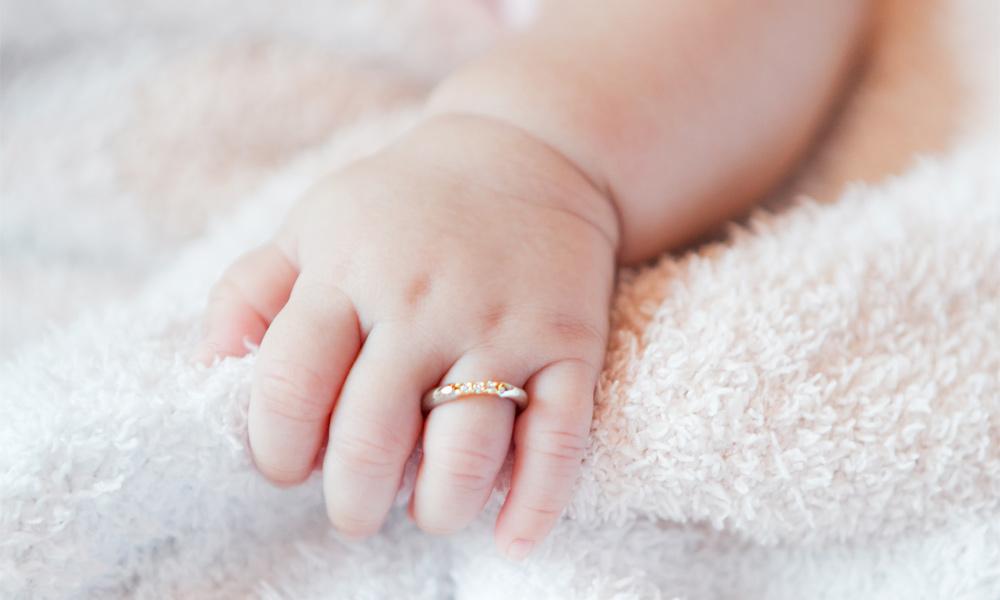 ベビーリング・赤ちゃんの手